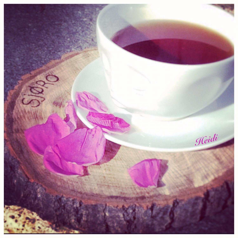 Tid for teatime på sjøro
